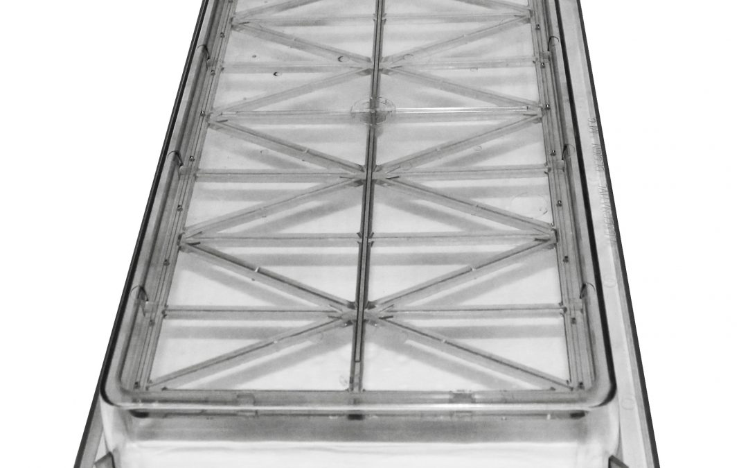 Large Mouse Vent Solid Cage Top