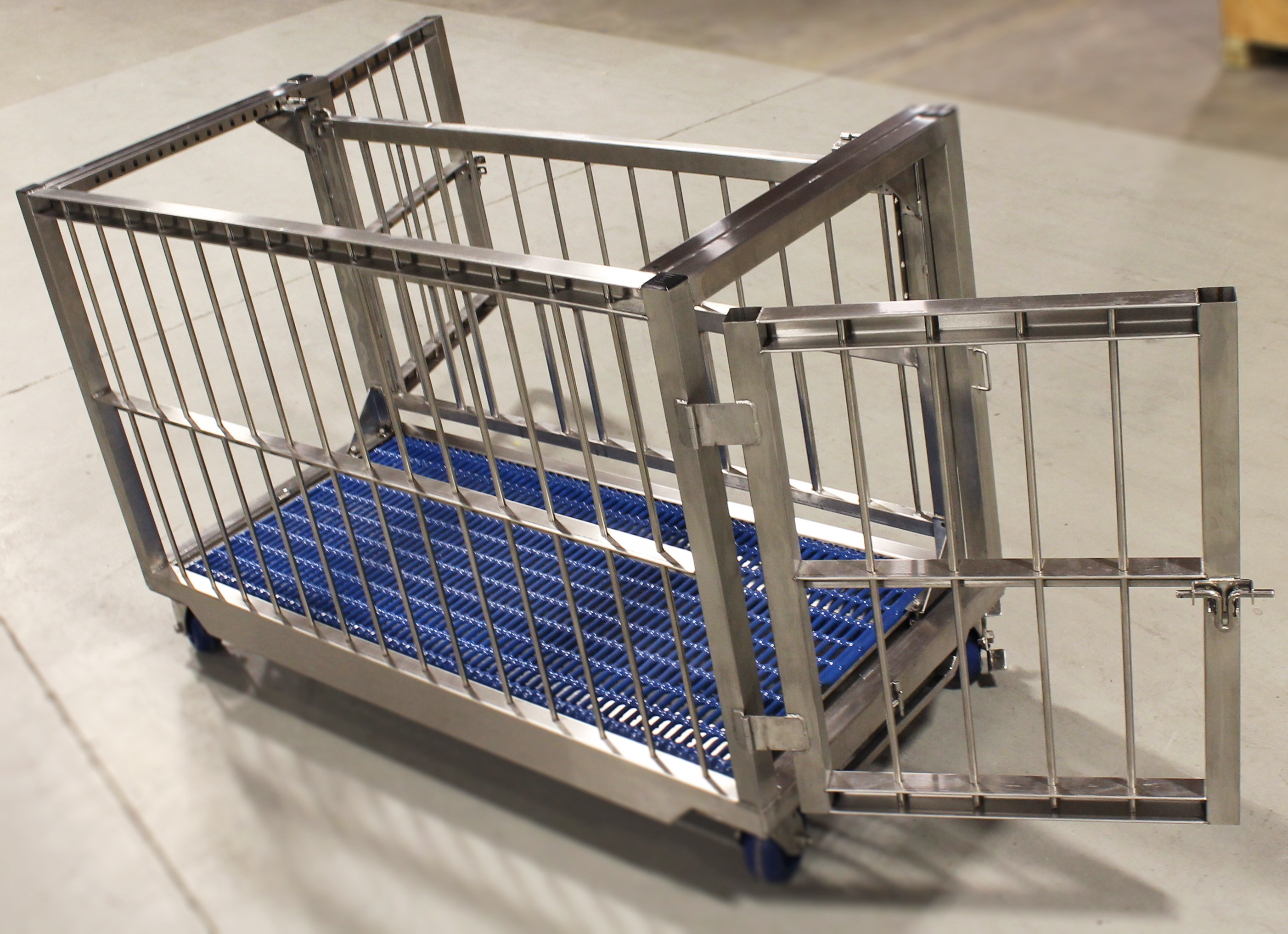 Animal Transport Cart With Scale