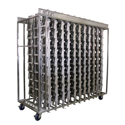 Cage Stack Transport Cart - 33 Stacks