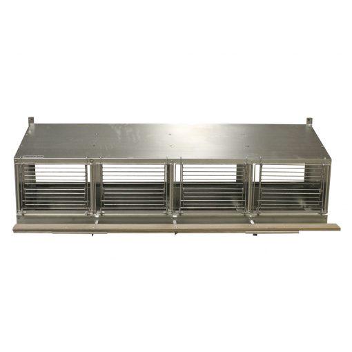 4 Unit Nest Box with Perch