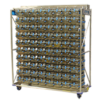 MACS Ultra-Air Single Sided Mobile Frame Ventilated Caging System