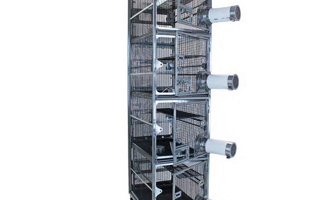 Tree Shrew 4-Cage Unit