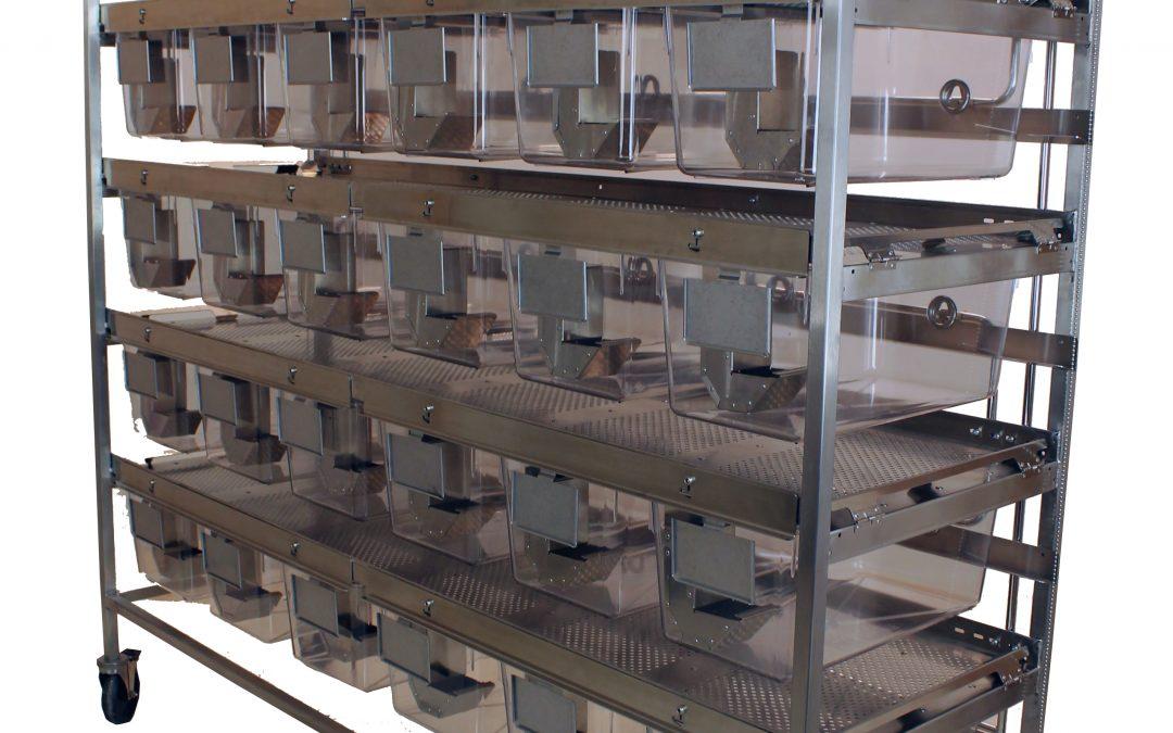 Rat Suspended Shelf Rack System